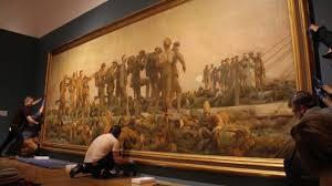john singer sargent s monumental oil painting