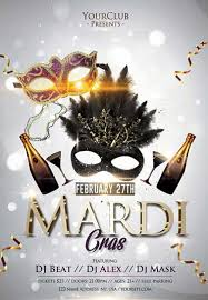 Free Carnival Poster Template Mardi Gras Free Carnival Flyer Template Download Psd Flyer