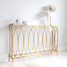 narrow console table and radiator cover