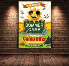 Summer Camp Flyer Template Inspiration Free Download 44 Summer Camp Flyer Templates Top Template Collection