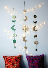 wall hanging decoration ideas decorating moon wall hanging decor awesome wall hanging decoration ideas new wall