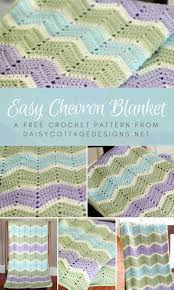 Chevron Crochet Blanket Pattern Cool Easy Chevron Blanket Crochet Pattern Daisy Cottage Designs