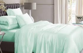 single bedroom medium size single bedroom green duvet cover mint silk bed linen mulberry mint