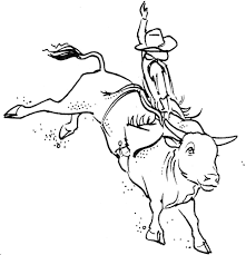 Small Picture Adult bull riding coloring pages Rodeo Coloring Pages Bull Rider