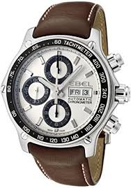 ebel 1911 discovery chronograph 1215797 steel mens strap watch dow ebel 1911 discovery chronograph 1215797 steel mens strap watch dow calendar 9750l62 63b35p11