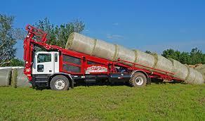 Round bale stacker / rectangular / self-propelled - 6500 - Stinger ...