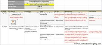 test plan template excel test case report template sample test case template with