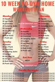 6 week workout plan to get ripped at home to burn fat and build muscle