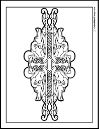 Small Picture 90 Celtic Coloring Pages Irish Scottish Gaelic