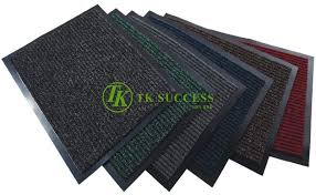 rib mats with edging wet dry