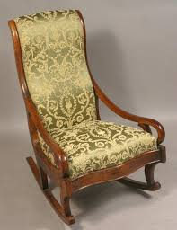 folding antique rocking chair antique upholstered rocking chair  inspirations home interior antique upholstered rocking chair inspirations