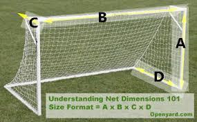 Buy High Quality Soccer Nets For All Size Soccer Goals  OpenYardcomBackyard Soccer Goals For Sale