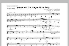 dance of the sugar plum fairy sheet music dance of the sugar plum fairy bb bass clarinet sheet music direct