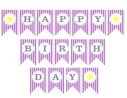 Happy Birthday Signs To Print 60th Birthday Banner Template
