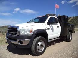Buy used 2008 Dodge Ram 4500 Bullet Sterling 4X4 Utility Truck ...