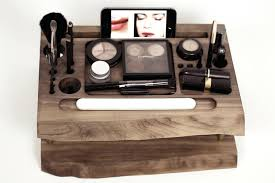 wooden makeup organizer zoom wooden makeup organiser ikea wooden makeup organizer with mirror