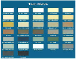 Tec Grout Color Chart Tec Grout Grout Manufacturers Colors Sanded Color Chart