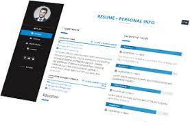 Visual Cv Builder Vezume Visual Resume Visual Cv Online Resume Online Cv