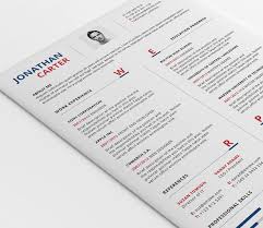 Modern Resume Template (Psd, Word)