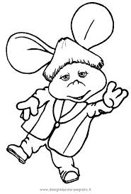 Topo Gigio Coloring Pages