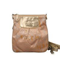 Coach Fashion Poppy Small Apricot Crossbody Bags 21477