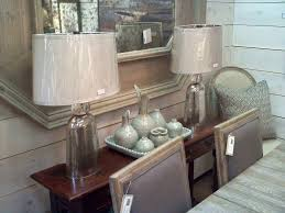 mercury glass table lamp ideas