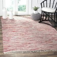 red rag rug rag rug cotton red indoor area rug brick red rag rug