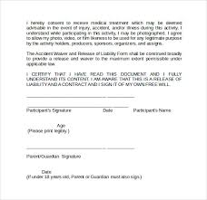 40 Liability Waiver Forms To Download Sample Templates Classy Liability Waiver Template Word