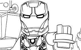 Lego Captain America Coloring Pages At Getdrawingscom Free For