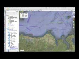 Viewing Us Nautical Charts On Google Earth Youtube