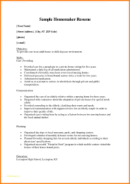 Homemaker Resume Skills - East.keywesthideaways.co