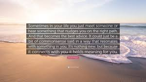 "Chetan Bhagat Best Quotes Chetan Bhagat Quote ""Sometimes in your life you just meet someone 18"