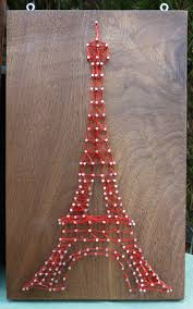 How To Do String Art Eiffel Tower String Art Its Been Done I Still Want To Do It