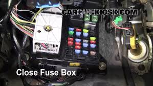 interior fuse box location ford taurus ford interior fuse box location 2000 2007 ford taurus 2002 ford taurus se 2 valve 3 0l v6