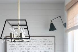 new breakfast nook light by the wood grain cottage