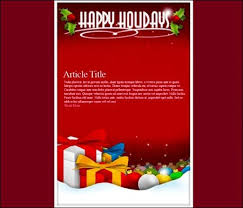 free holiday newsletter template happy holidays flyer template free iflypt com