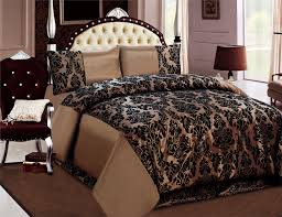 image of brown duvet cover type