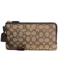 COACH. Double Zip Wallet in Signature Jacquard. 6 reviews. main image  main  image ...