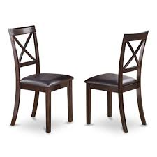 cool inspiration x back dining chairs east west furniture boc cap lc boston chair with faux