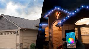 lighting a house. Invisible By Day, Radiant At Night. A Smarter, Safer And More Colorful Solution Lighting House