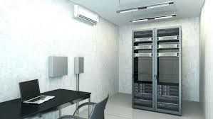 wall hanging air conditioner room air conditioners white wall mounted air conditioner installed in a server