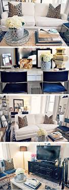 Leopard Chairs Living Room Interior Design By Raiana Schwenker Leopard Pillows From Www