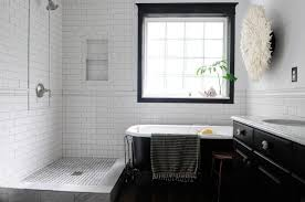 30 ideas for a vintage bathroom with subway tile
