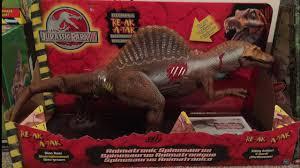 Jurassic park spinosaurus toys