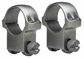 Ruger M77 Scope Ring Chart Ruger M77 Scope Ring Set 1 Inch High Matte Riflescope Rings 90409