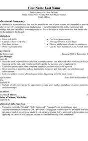 Job Resume Template Classy Professional Job Resume Template Formatted Templates Example