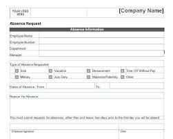 Request Off Calendar Template Free Employee Vacation Request Form Time Off Request Form