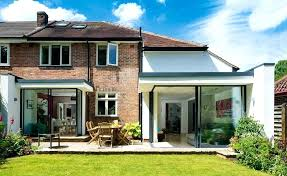 semi detached house extended and remodelled semi detached home with glazed sections semi detached house plans