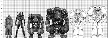 Space Marine Height Chart Tg Traditional Games