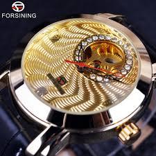 Kopen Goedkoop Forsining Golden Luxe Gegolfd <b>Designer</b> Heren ...